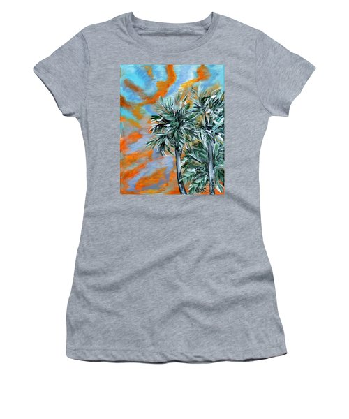 Collection. Art For Health And Life. Painting 2 Women's T-Shirt (Athletic Fit)
