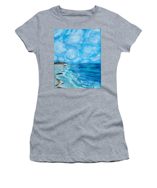 Collection. Art For Health And Life. Painting 4 Women's T-Shirt (Athletic Fit)
