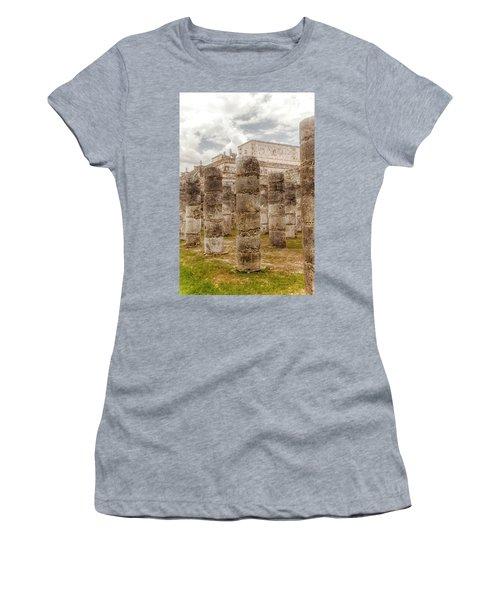 Colomnade Of Warriors Women's T-Shirt