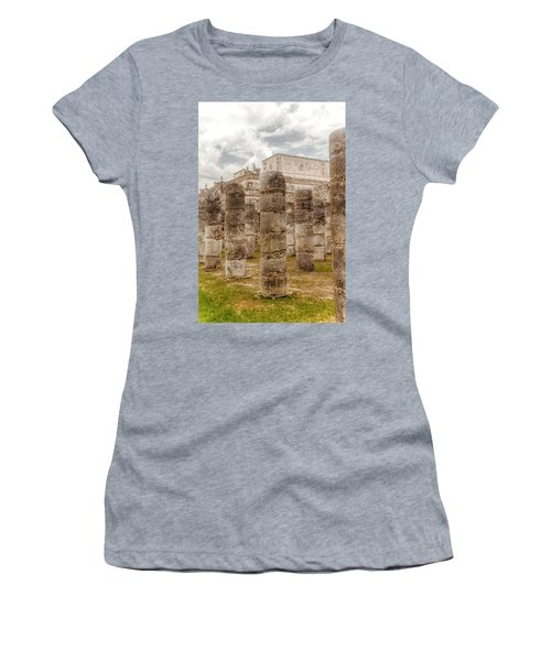 Colomnade Of Warriors Women's T-Shirt (Athletic Fit)