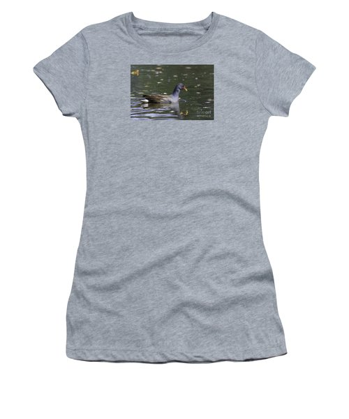 Common Moorhen Women's T-Shirt (Athletic Fit)