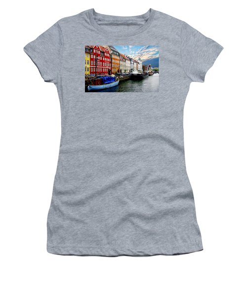 Copenhagen - Denmark Women's T-Shirt (Athletic Fit)