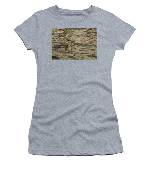 Caught Women's T-Shirt (Athletic Fit)
