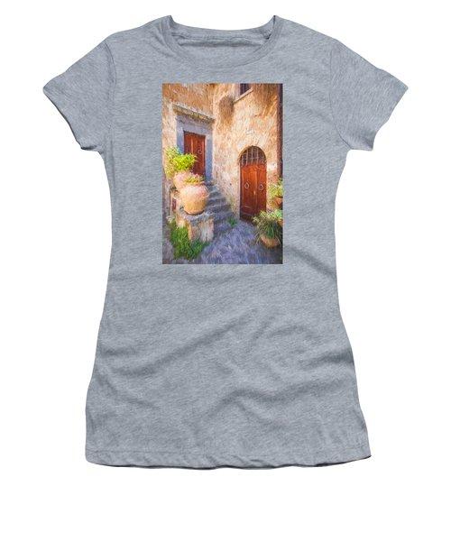 Courtyard Of Tuscany Women's T-Shirt