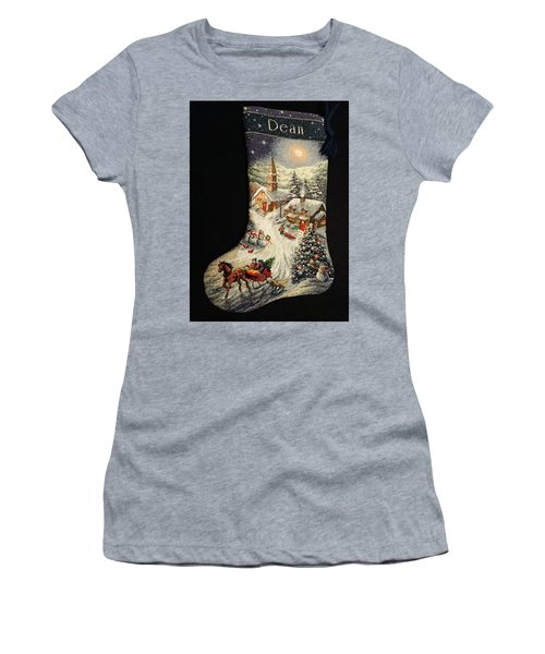 Cross-stitch Stocking Women's T-Shirt