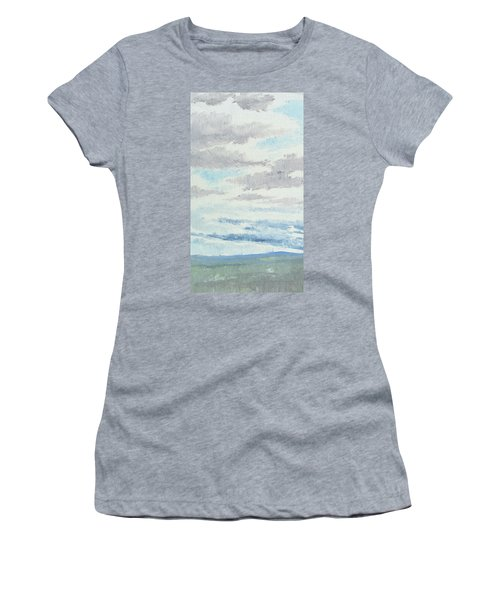 Dagrar Over Salenfjallen- Shifting Daylight Over Distant Horizon 9 Of 10_0029 Women's T-Shirt