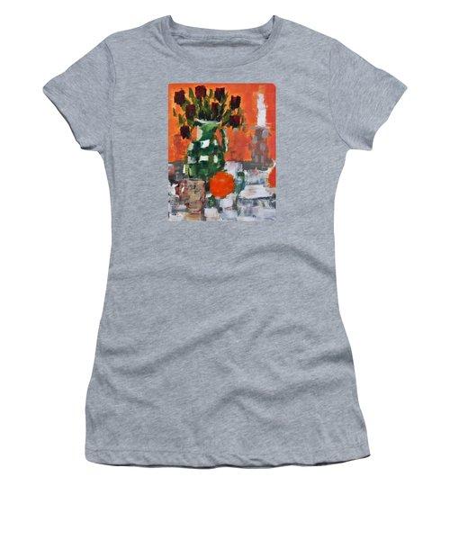 Dead Roses Women's T-Shirt (Junior Cut) by Tamara Savchenko