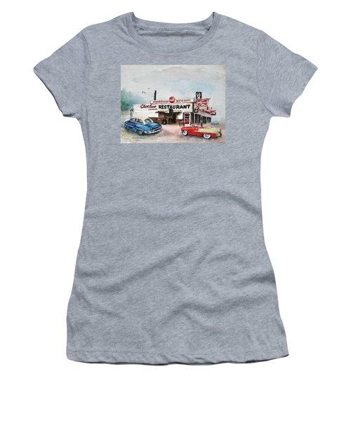 Elvis Has Left The Building. Women's T-Shirt (Athletic Fit)