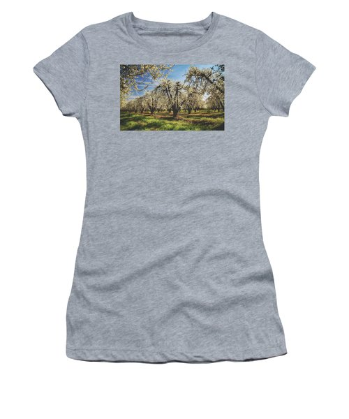 Women's T-Shirt (Junior Cut) featuring the photograph Everything Is New Again by Laurie Search