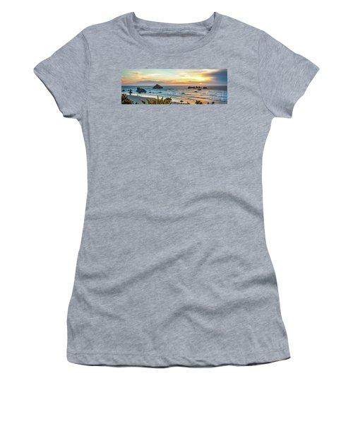 Face Rock At Sunset Women's T-Shirt