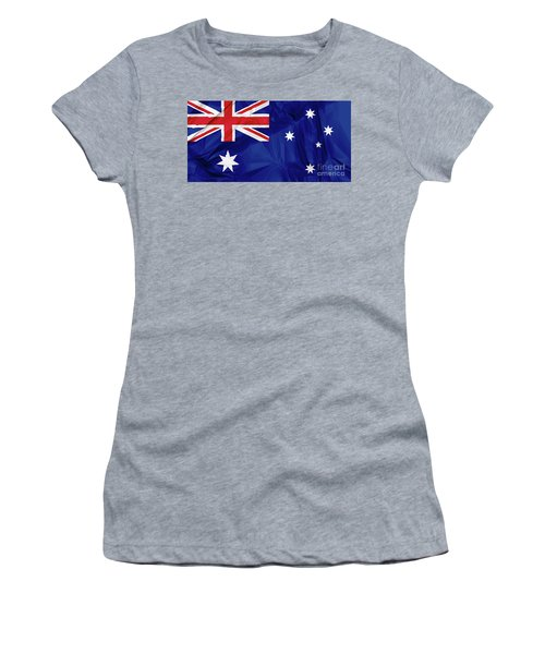 Flag Of Australia Women's T-Shirt (Athletic Fit)