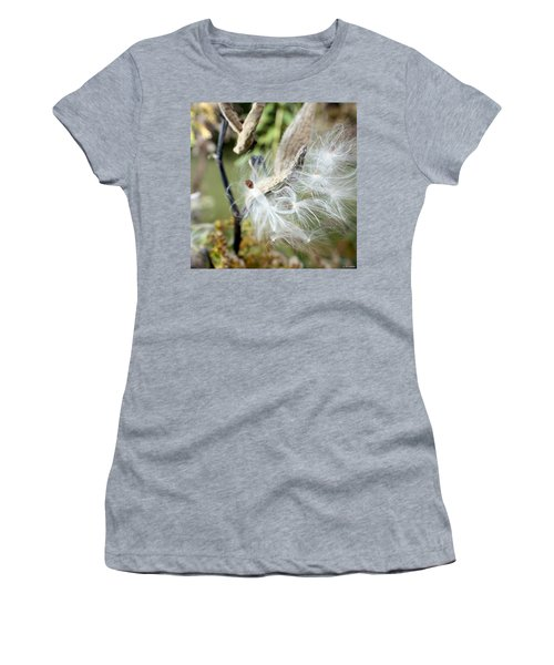 Flight Of The Milkweed Women's T-Shirt (Athletic Fit)