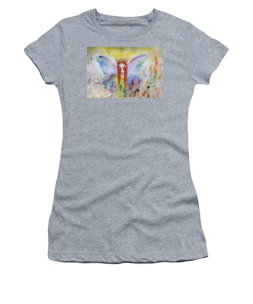 Flower Fairy  Women's T-Shirt (Athletic Fit)