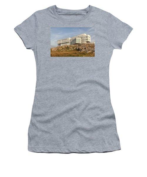 Fogo Island Inn Women's T-Shirt (Athletic Fit)