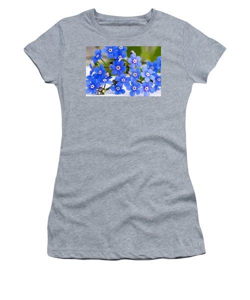 Forget-me-not Women's T-Shirt (Athletic Fit)