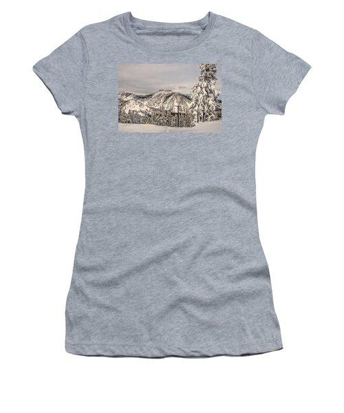 Fresh Snow Women's T-Shirt (Athletic Fit)