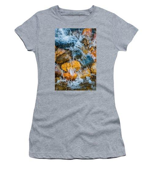 Women's T-Shirt (Junior Cut) featuring the photograph Fresh Water by Alexander Senin