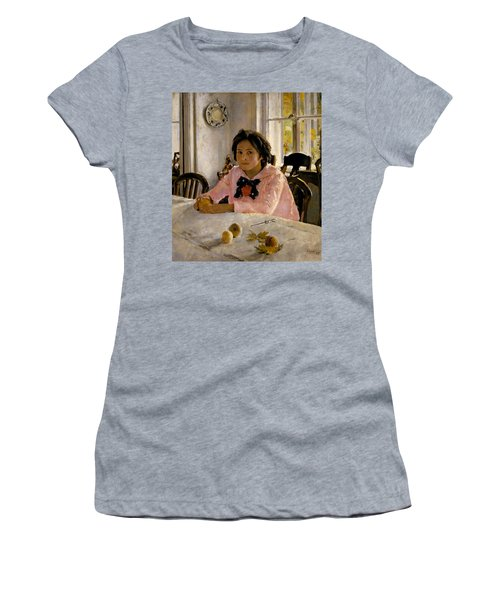 Girl With Peaches Women's T-Shirt