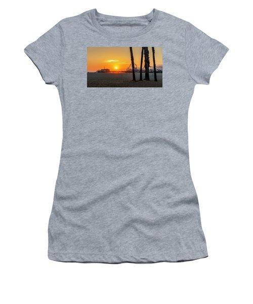 Golden Glow At Sunset Women's T-Shirt