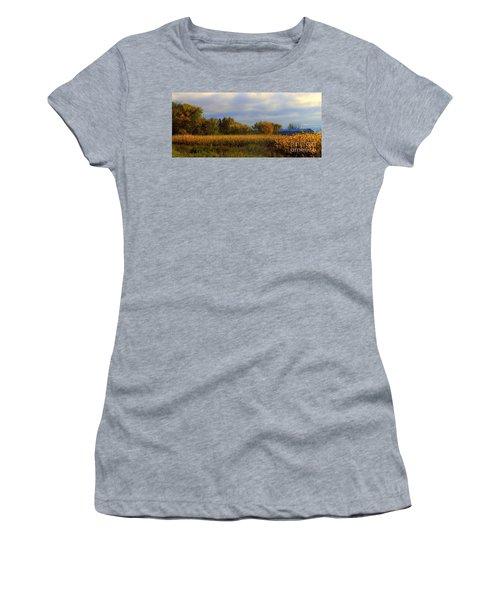 Harvest Women's T-Shirt (Junior Cut) by Elfriede Fulda