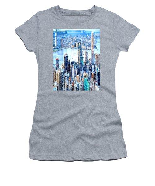 Hong Kong Skyline Women's T-Shirt