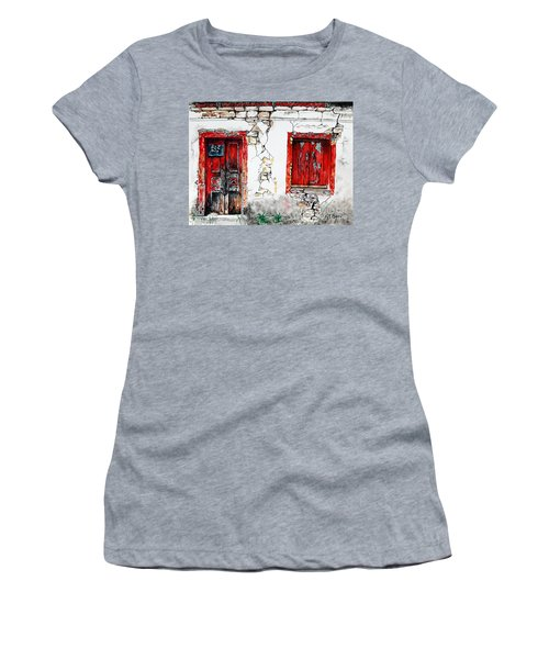 House For Sale Women's T-Shirt (Junior Cut) by Maria Barry