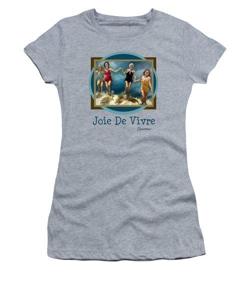Joie De Vivre Women's T-Shirt (Athletic Fit)