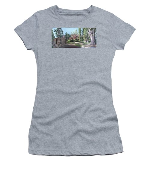 Josie's Cabin Women's T-Shirt (Athletic Fit)