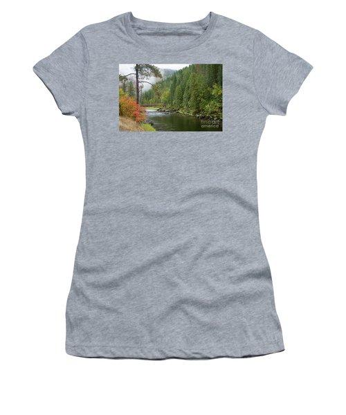 Lochsa Mists Women's T-Shirt (Athletic Fit)