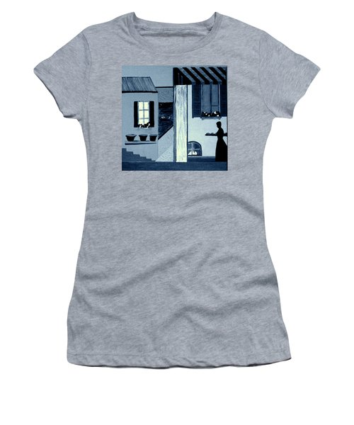 Midnight In Limoux Women's T-Shirt (Junior Cut) by Bill OConnor
