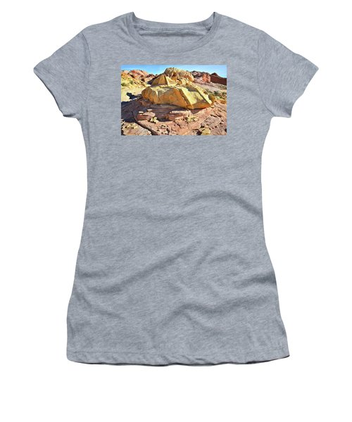 Morning In Wash 3 In Valley Of Fire Women's T-Shirt