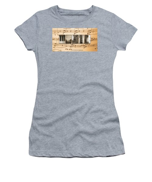 Music Women's T-Shirt (Athletic Fit)