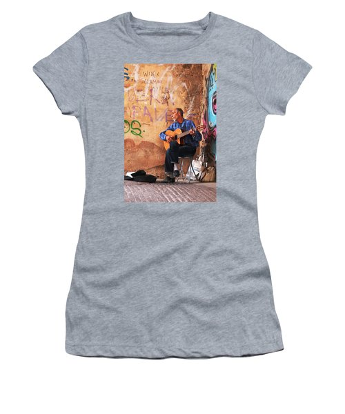 Musician Women's T-Shirt (Athletic Fit)