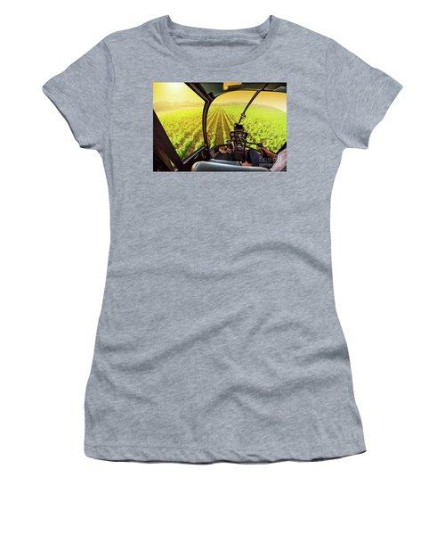 Napa Valley Scenic Flight Women's T-Shirt