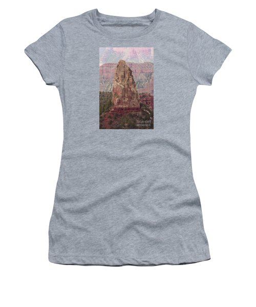 North Rim Rock  Women's T-Shirt (Athletic Fit)