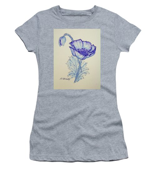 Oh Poppy Women's T-Shirt (Athletic Fit)