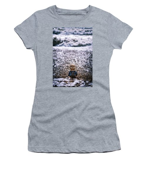 Old Doll On The Beach Women's T-Shirt