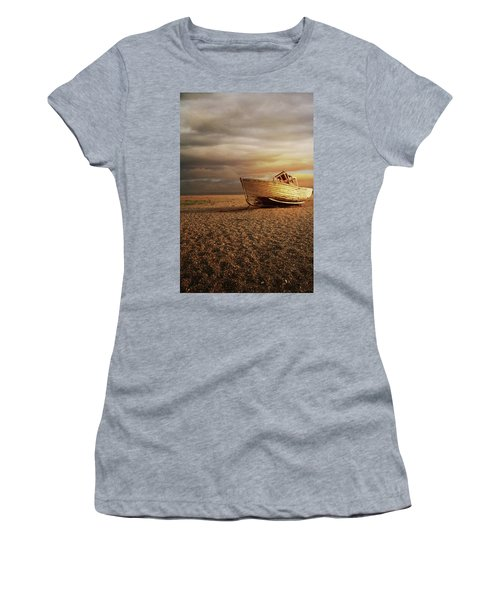 Old Wooden Boat Women's T-Shirt (Athletic Fit)
