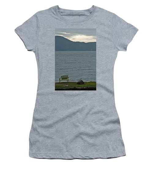 Orcas Island View Women's T-Shirt (Athletic Fit)