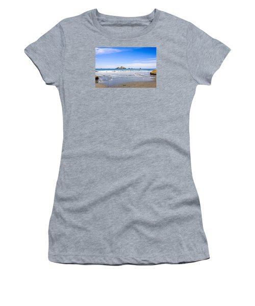 Pacific Coast California Women's T-Shirt (Junior Cut) by Chris Smith