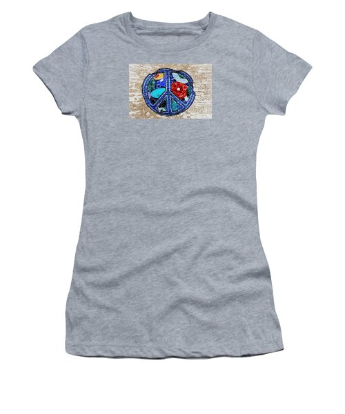 Peace  Women's T-Shirt (Athletic Fit)