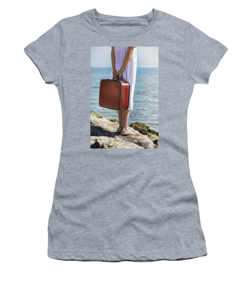 Red Suitcase Women's T-Shirt