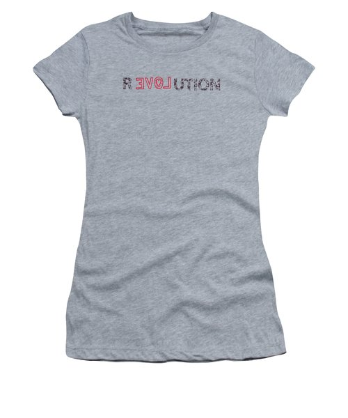 Women's T-Shirt (Junior Cut) featuring the drawing Revolution by Bill Cannon