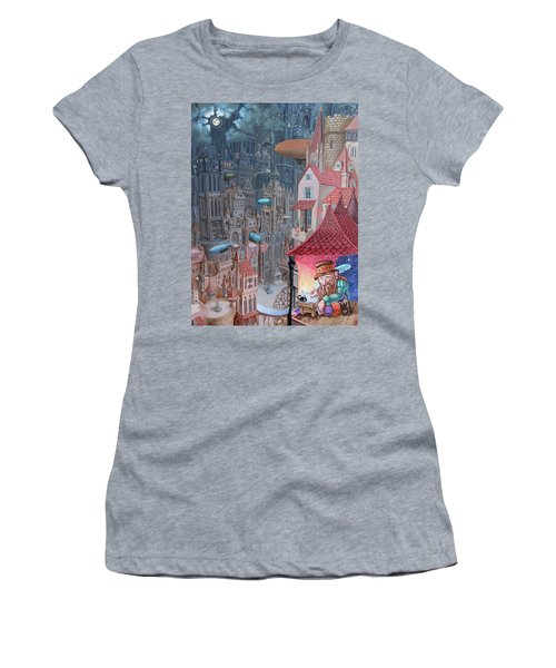 Saga Of The City Of Zeppelins Women's T-Shirt