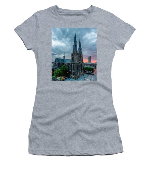 Saint Catherina Church In Eindhoven Women's T-Shirt (Athletic Fit)