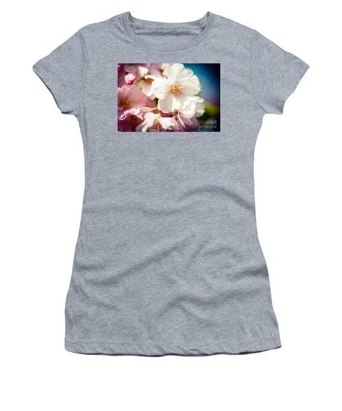 Sakura Blossoms Pink Cherry Artmif.lv Women's T-Shirt
