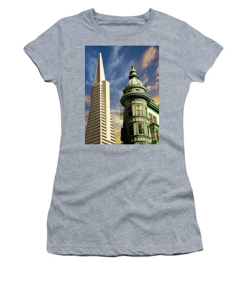 San Francisco Then And Now Women's T-Shirt