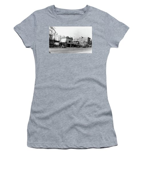 Women's T-Shirt (Athletic Fit) featuring the photograph Seaman Drake Arch  by Cole Thompson
