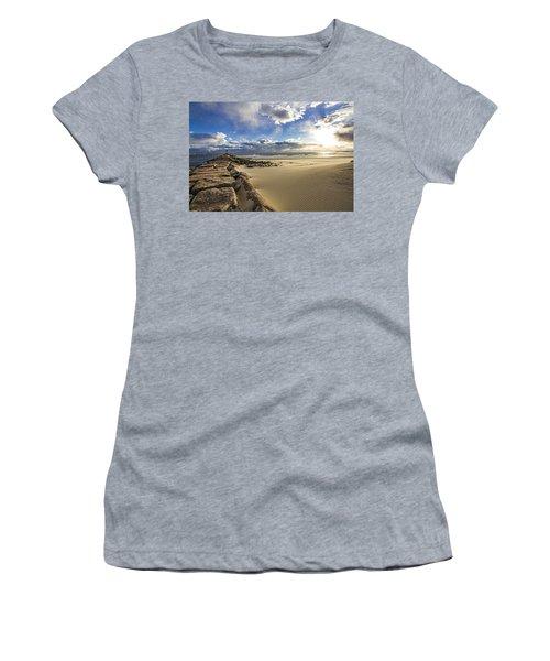 Shinnecock Sand Drift Women's T-Shirt (Athletic Fit)