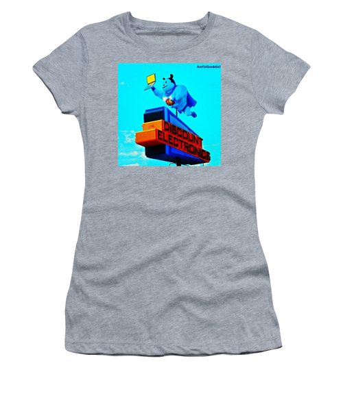 #sign #weirdness In #myhometown Women's T-Shirt (Athletic Fit)
